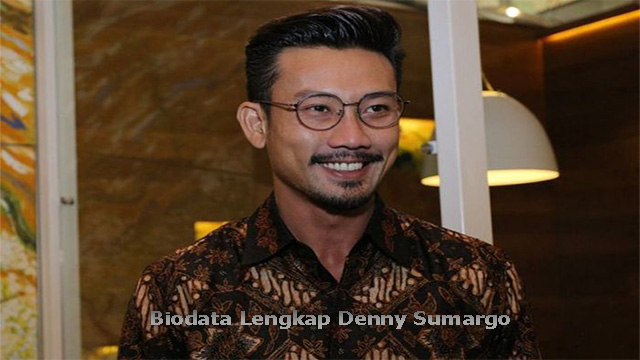 Biodata Lengkap Denny Sumargo