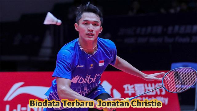 Biodata Terbaru dan Terlengkap Atlet Jonatan Christie