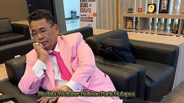 Biodata Youtuber Hotman Paris Hutapea