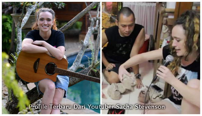 Youtuber Sacha Stevenson